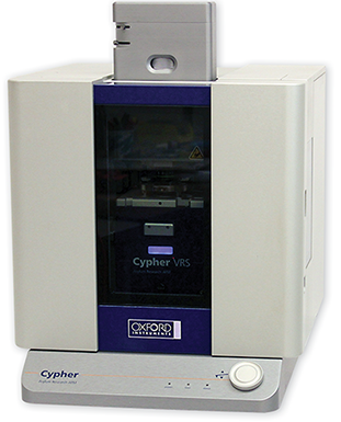 Cypher VRS, the first and only full-feature video-rate atomic force microscope